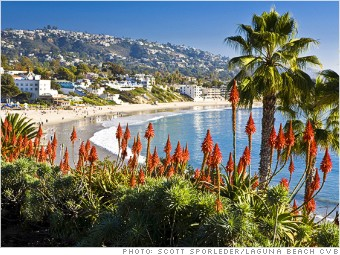 best places rich single laguna beach california