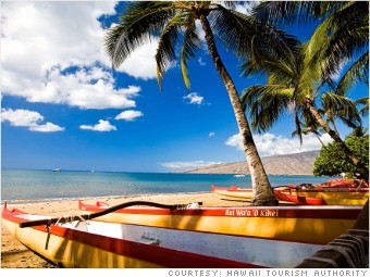 best places cleanest air kihei hawaii