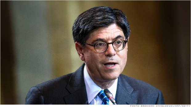 treasury secretary jack lew