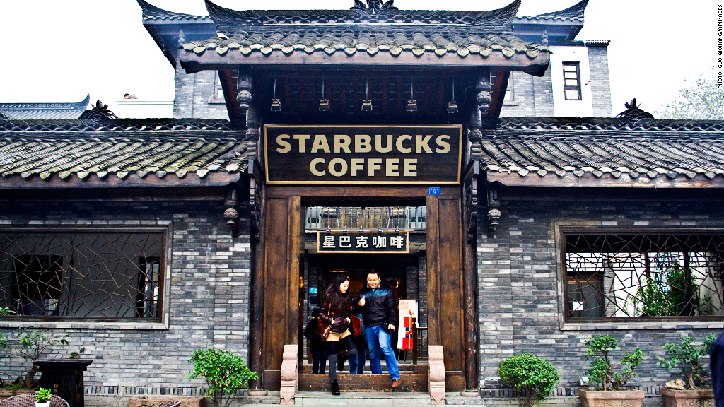 starbucks china surge