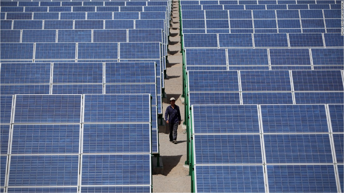 China is crushing the U.S. in renewable energy
