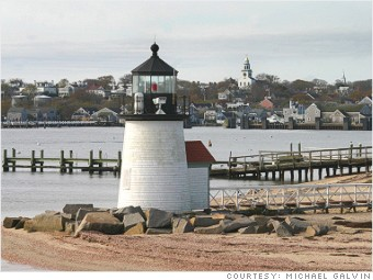 best places least crowded nantucket massachusetts