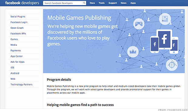 facebook developer games