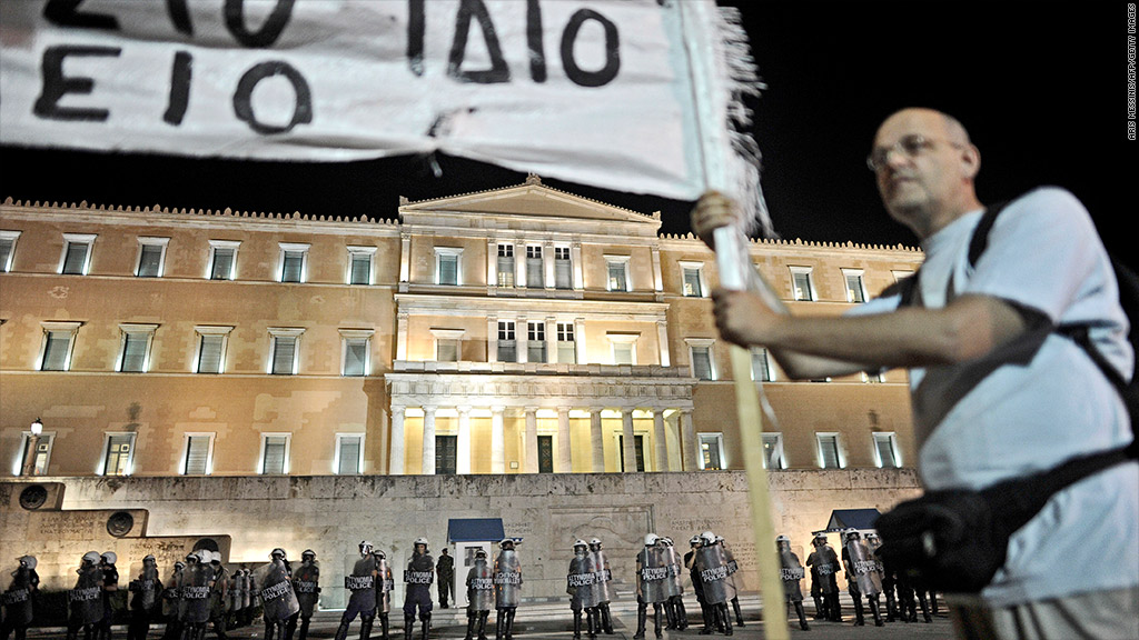 greece strife