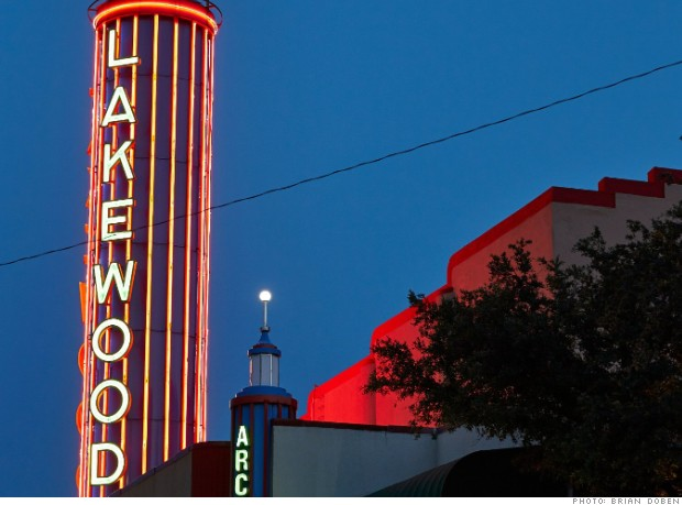 best places neighborhoods lakewood texas