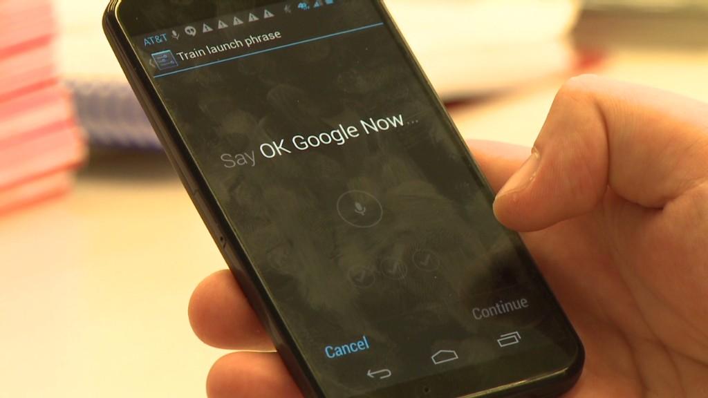 Google's new Moto X smartphone