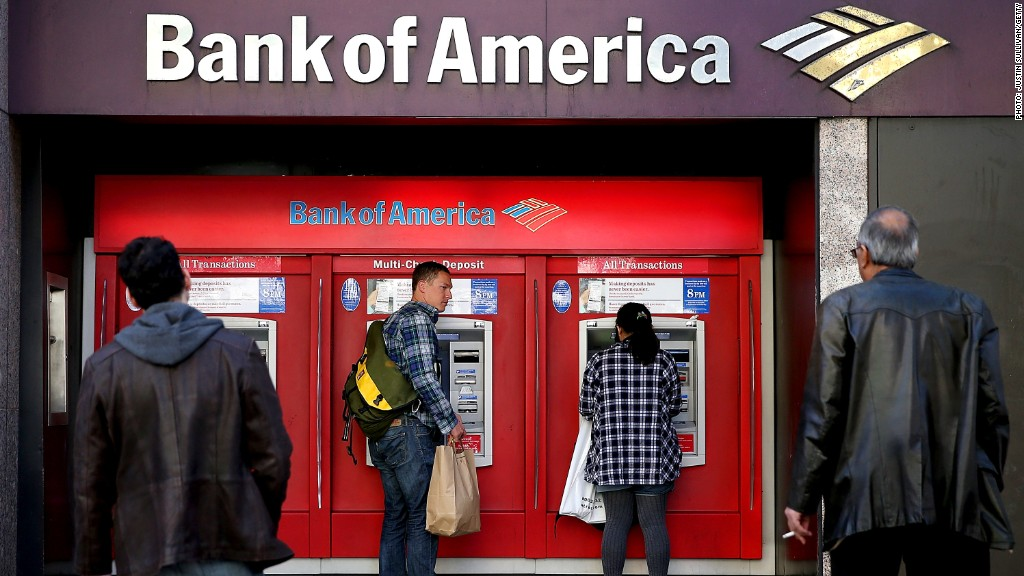 bank of america civil charges