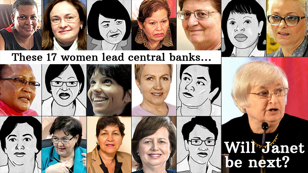 central banking women leaders