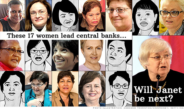 Female economists: Pick Janet, but leave gender out of it!