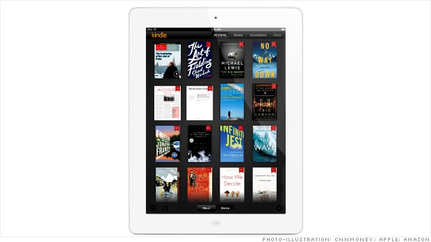ipad kindle app