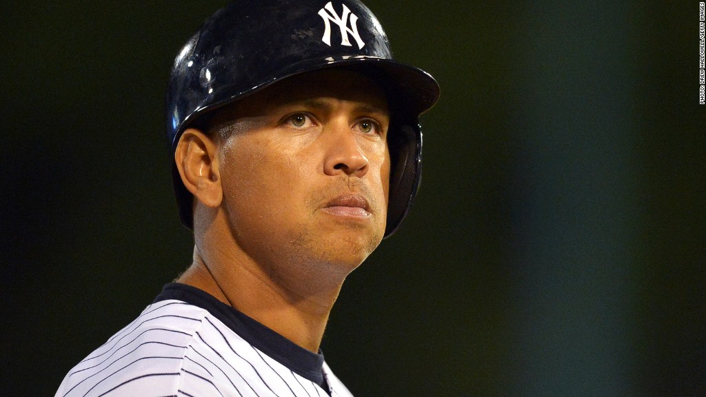 alex rodriguez money suspension