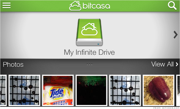 bitcasa cloud app
