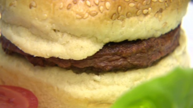 World's first burger made from stem cells