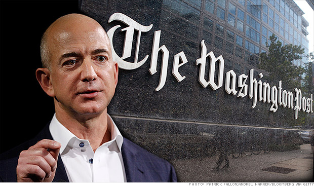 Image result for jeff bezos washington post