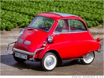 BMW Isetta Cool Relatively Cheap Collectible Cars - Cheap cars