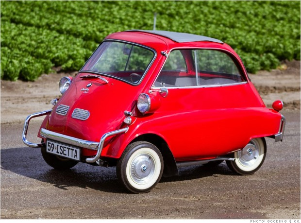 1959 bmw isetta 300 cool relatively cheap collectible cars from pebble beach cnnmoney. Black Bedroom Furniture Sets. Home Design Ideas