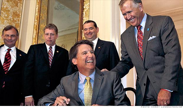 north carolina gov signs bill