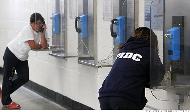 prisoner phone calls