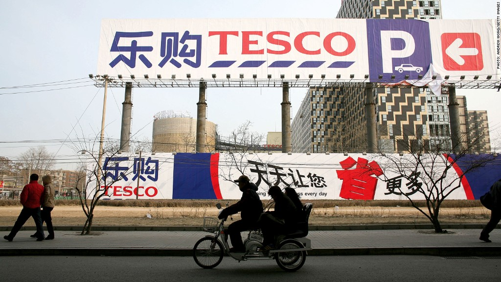tesco china