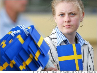 best countries working moms sweden
