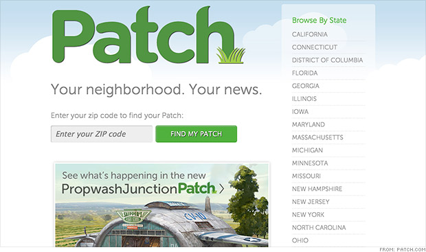 patch news site