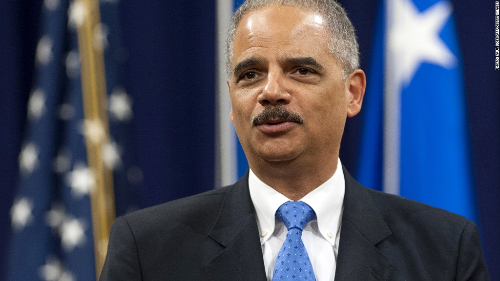 eric holder jail sentences