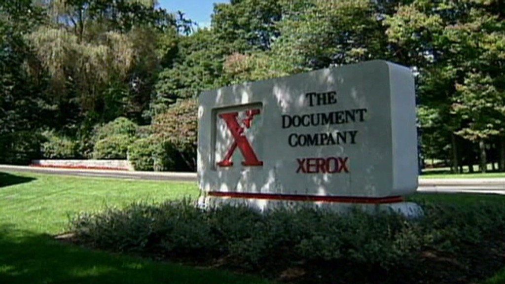 Copy this! Xerox prints a turnaround
