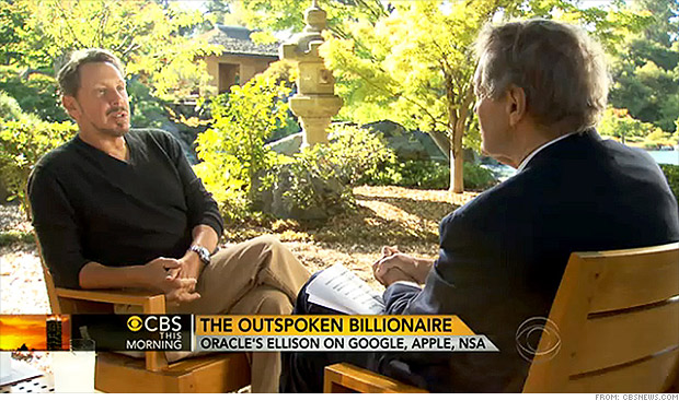larry ellison charlie rose