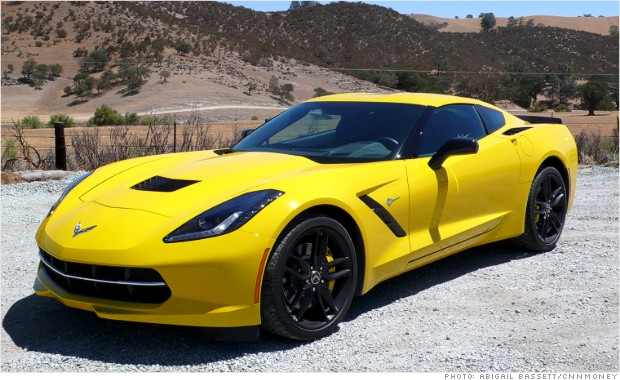 corvette stingray left front