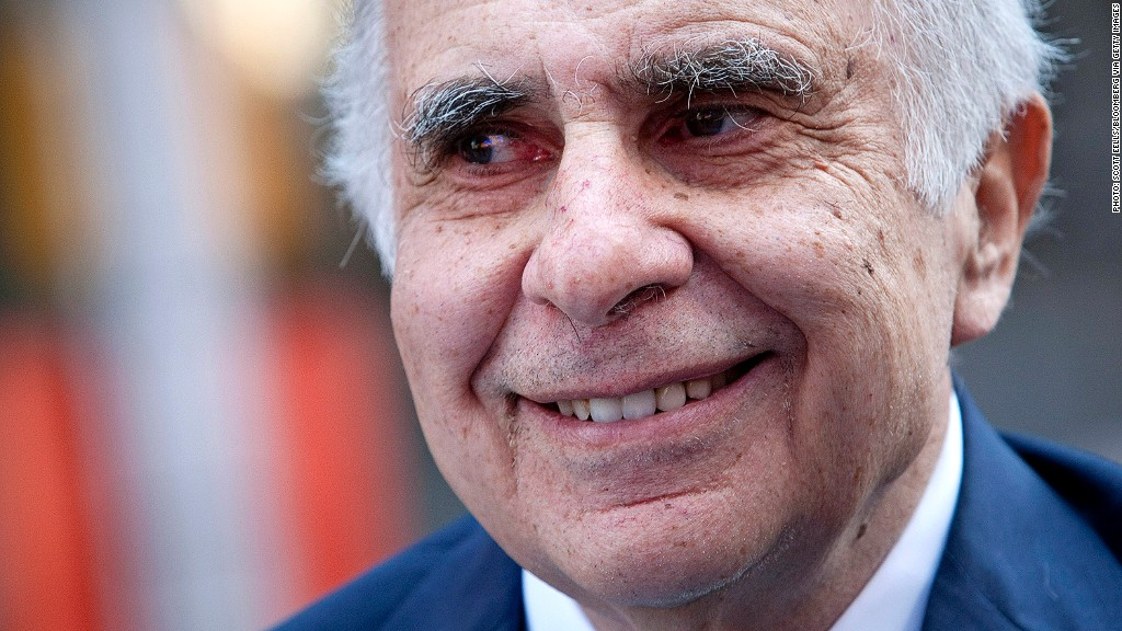 Icahn wants 'accountability' from CEOs