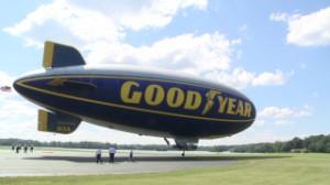 I fly a Goodyear blimp