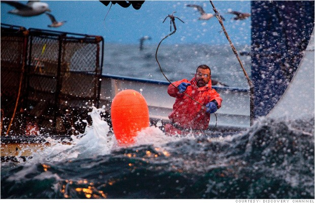most dangerous jobs fisherman