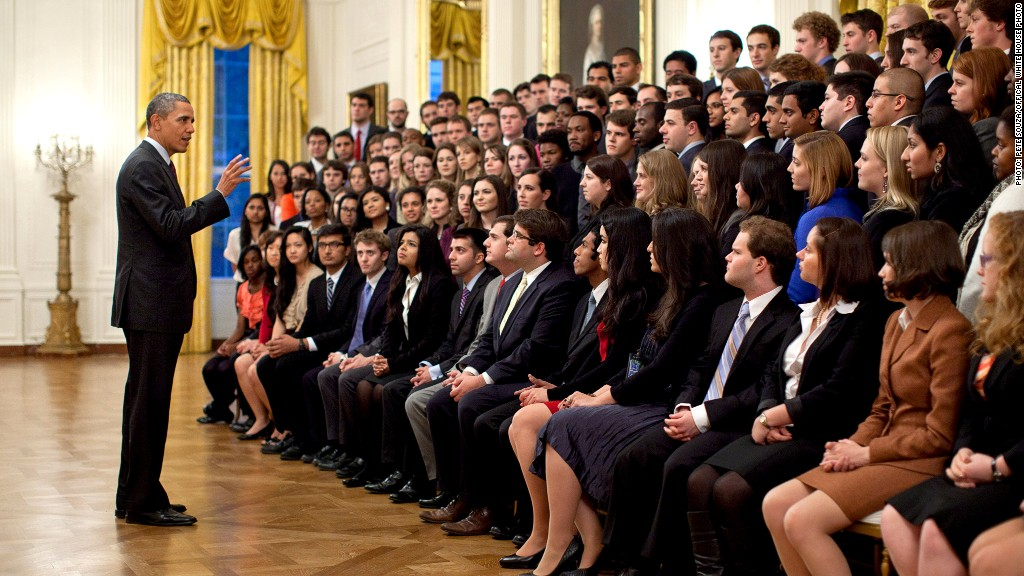 white house interns