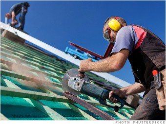 most dangerous jobs roofer