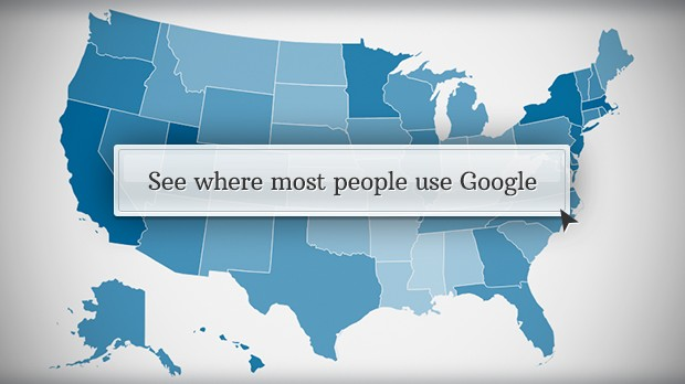 where most people use google