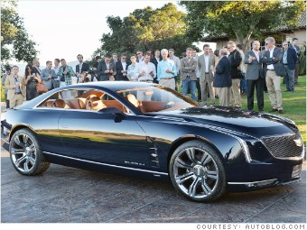 pebble beach new cars cadilac elmiraj concept