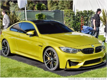 pebble beach new cars bmw m4 concept