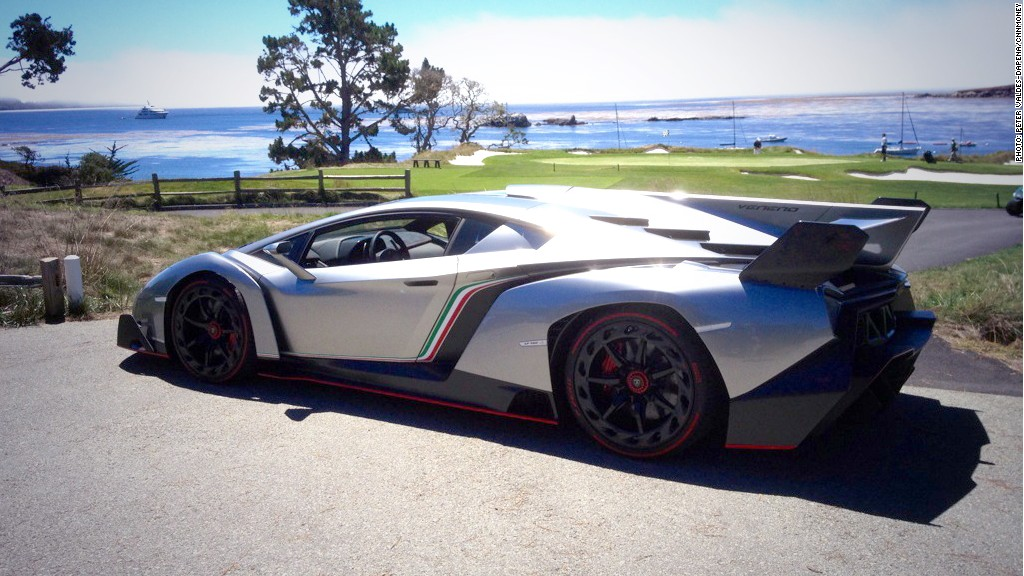 lamborghini veneno coolest supercars of 2013 cnnmoney. Black Bedroom Furniture Sets. Home Design Ideas