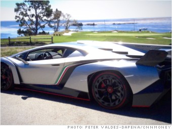 pebble beach new cars lamborghini veneno