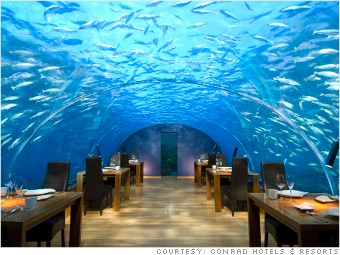 underwater hotels maldives rangali islands