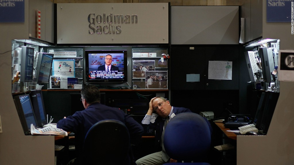Goldman sachs options trading issue