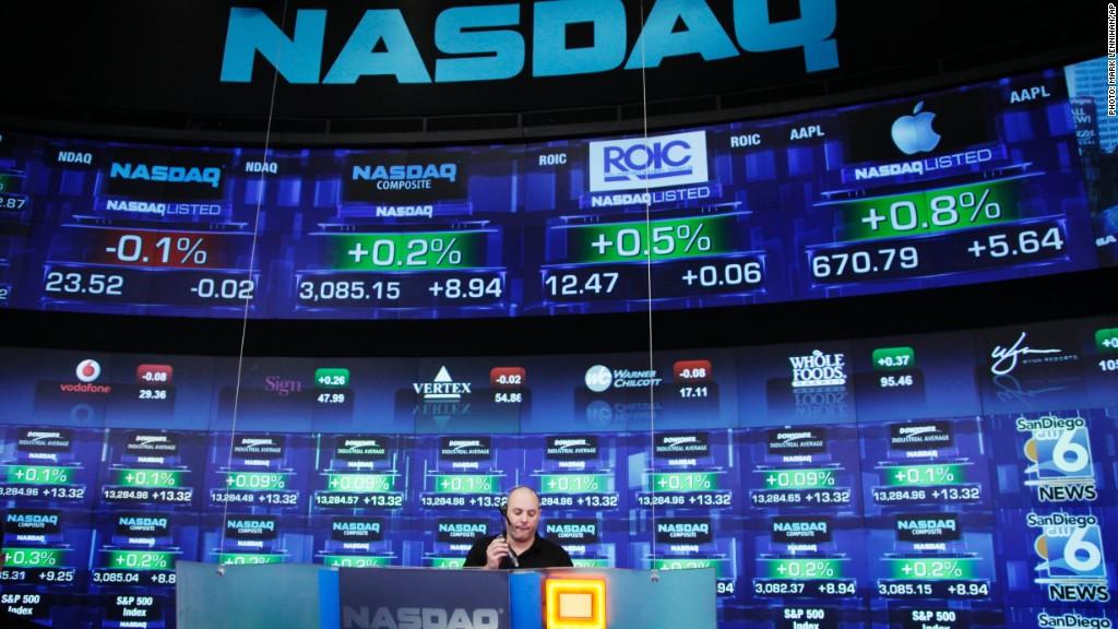 nasdaq halts trading