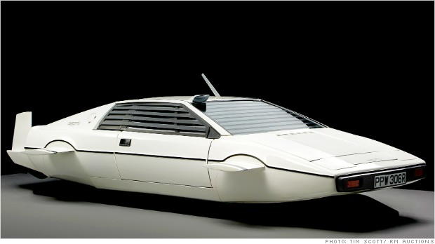james bond submarine car