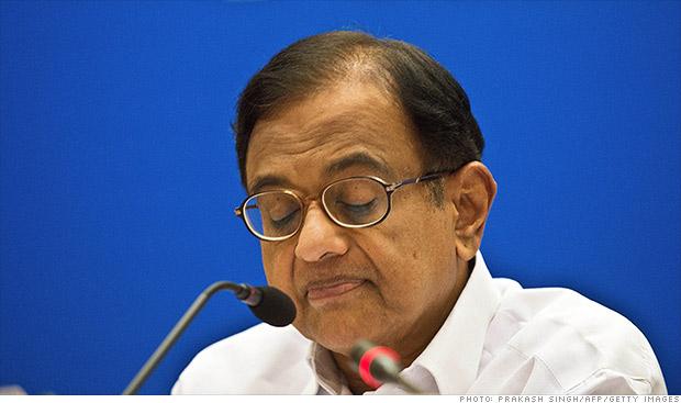 shri chidambaram india finance minister