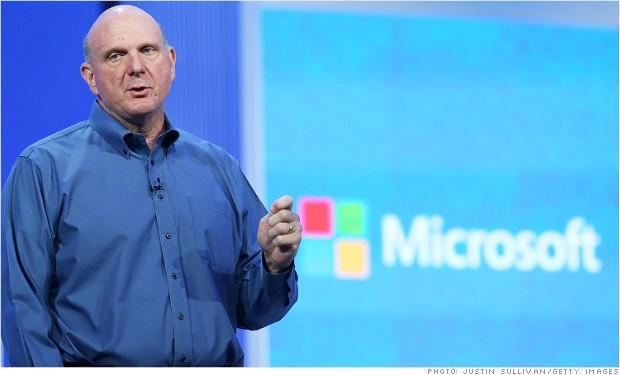 Steve Ballmer, CEO de Microsoft, anuncia su retiro