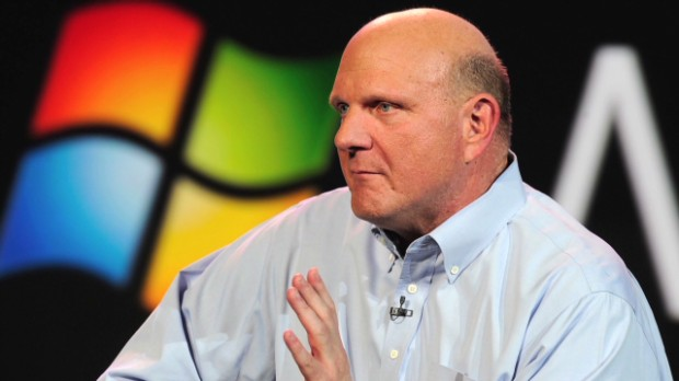 Investors dance as Steve Ballmer exits