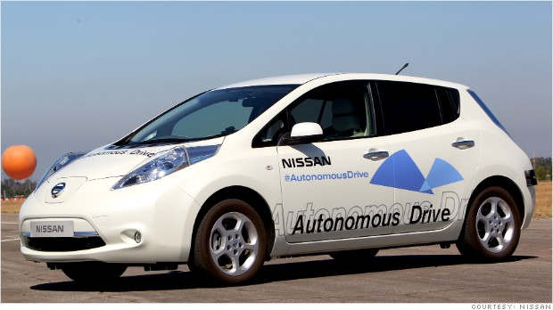 Nissan plans to begin selling self-driving cars by 2020