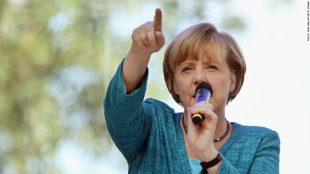 merkel greece eurozone