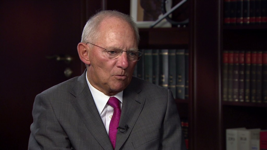 German finance minister: No more bailouts