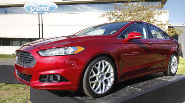 Ford Fusion now made in U.S.